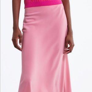 Zara silk skirt